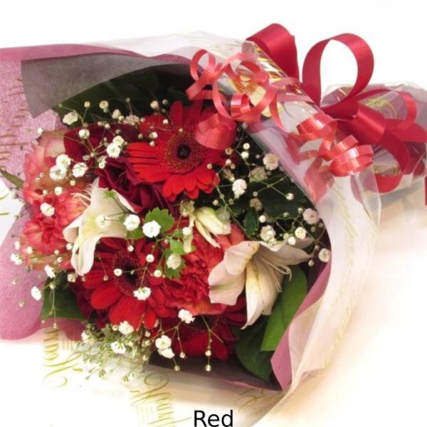 花束 送料無料 ラウンドブーケ 季節のお花たっぷり花束、お誕生日、ギフト、発表会、プレゼント、宅配|flowerexpress-com|12