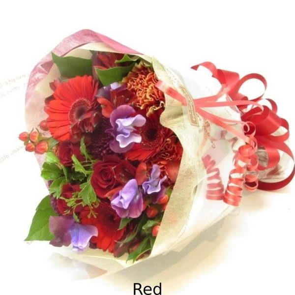 花束 送料無料 ラウンドブーケ 季節のお花たっぷり花束、お誕生日、ギフト、発表会、プレゼント、宅配|flowerexpress-com|13