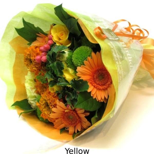 花束 送料無料 ラウンドブーケ 季節のお花たっぷり花束、お誕生日、ギフト、発表会、プレゼント、宅配|flowerexpress-com|14