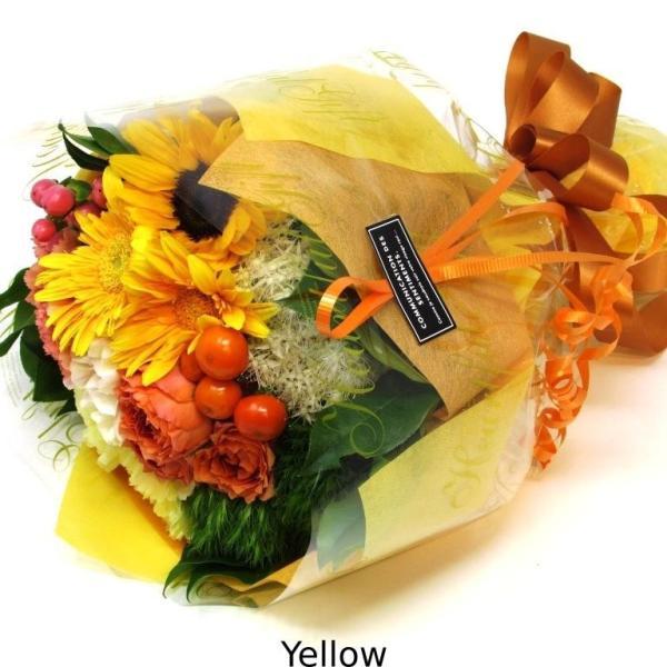 花束 送料無料 ラウンドブーケ 季節のお花たっぷり花束、お誕生日、ギフト、発表会、プレゼント、宅配|flowerexpress-com|15
