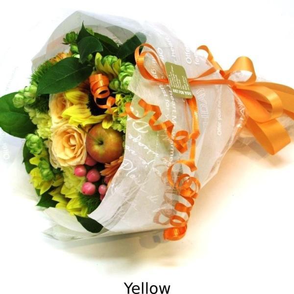 花束 送料無料 ラウンドブーケ 季節のお花たっぷり花束、お誕生日、ギフト、発表会、プレゼント、宅配|flowerexpress-com|16
