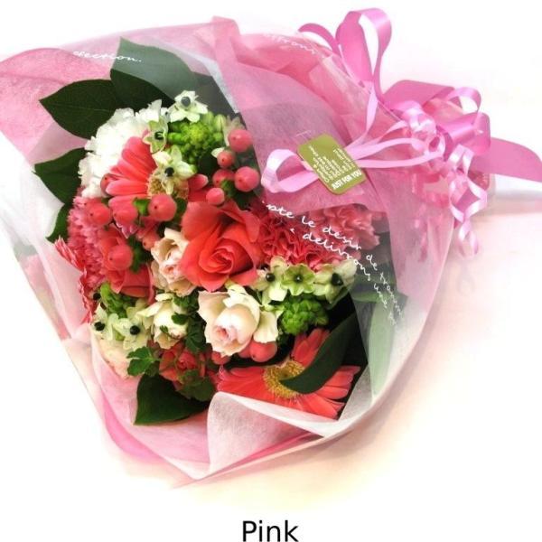 花束 送料無料 ラウンドブーケ 季節のお花たっぷり花束、お誕生日、ギフト、発表会、プレゼント、宅配|flowerexpress-com|06