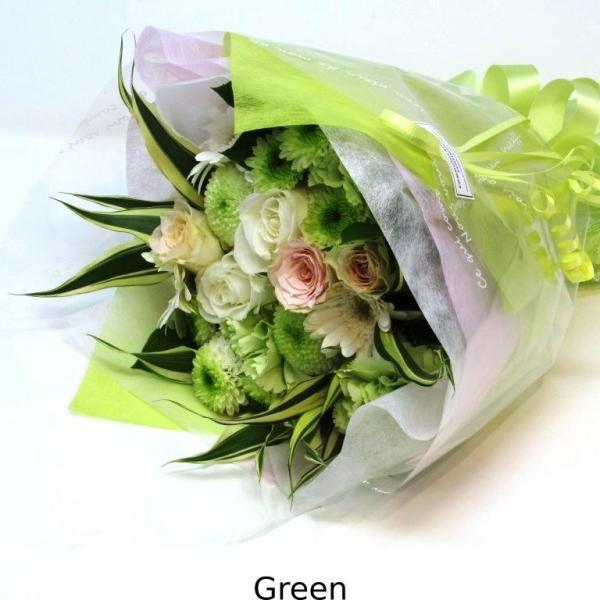 花束 送料無料 ラウンドブーケ 季節のお花たっぷり花束、お誕生日、ギフト、発表会、プレゼント、宅配|flowerexpress-com|10