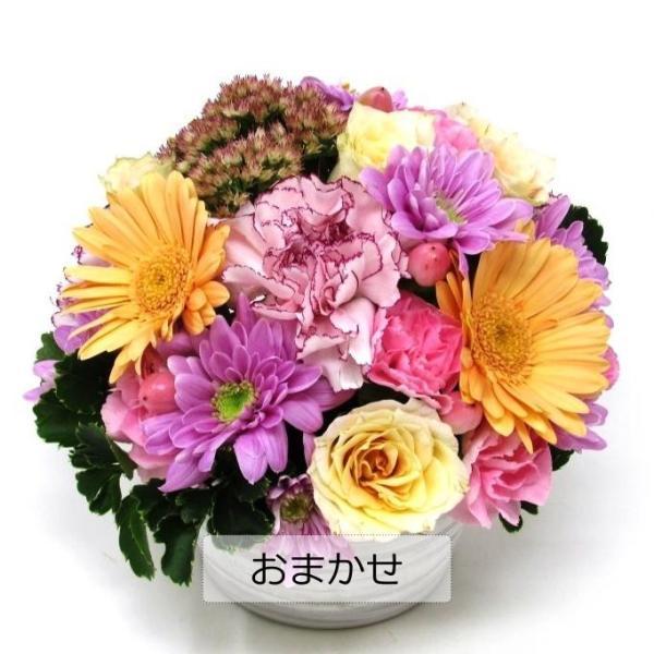 フラワーアレンジメント 送料無料 季節のお花たっぷりおまかせ、お誕生日、ギフト、発表会、送別、お礼|flowerexpress-com|03