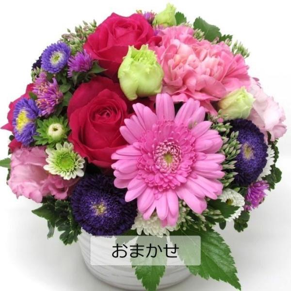 フラワーアレンジメント 送料無料 季節のお花たっぷりおまかせ、お誕生日、ギフト、発表会、送別、お礼|flowerexpress-com|04