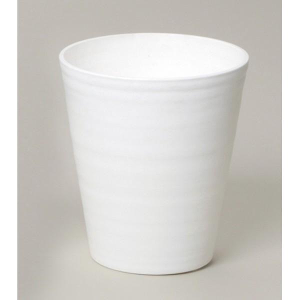 明和フラワーポット セラアートシリーズ 長鉢7寸 ホワイト 1個|flowernana
