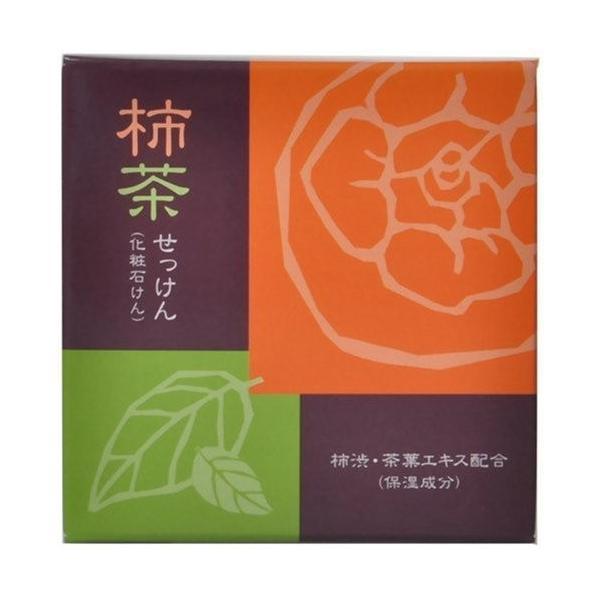 柿茶石けん 80g