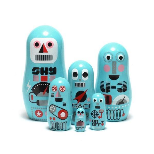 RoomClip商品情報 - OMM DESIGN POCKET MATRYOSHKA ROBOT (OMM デザイン ポケット マトリョーシカ ロボット)