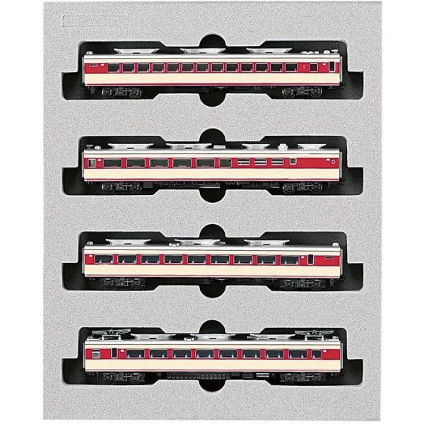 カトー 151系「こだま・つばめ」4両増結セット 10-531