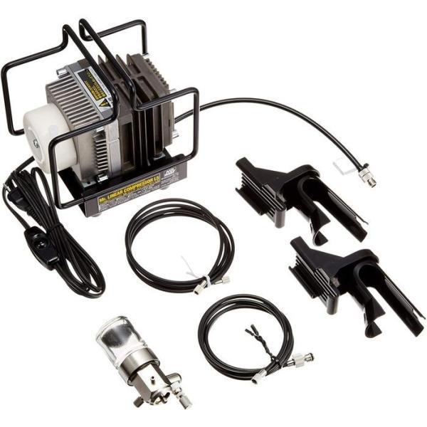 エアコンプレッサー Mr.リニアコンプレッサー L5/レギュレーターセット GSIクレオス PS310