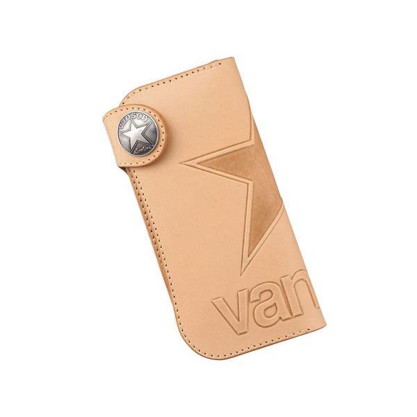 バンソン vanson メンズ 長財布 ロングウォレットVP-115-01 ナチュラル|fnetscom
