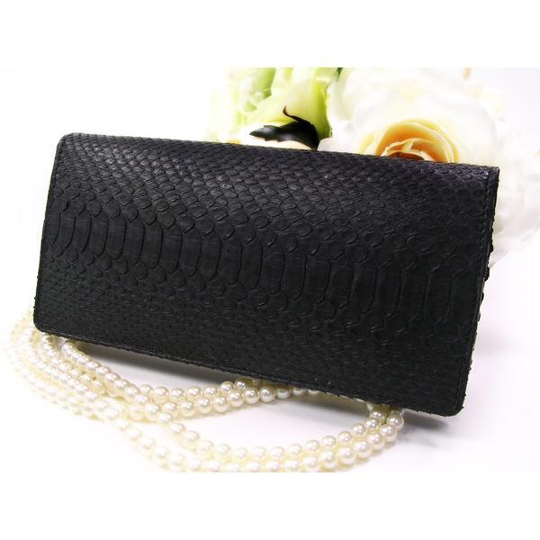 財布 パイソン無双長財布ブラック T3248-PY01-1|fnetscom