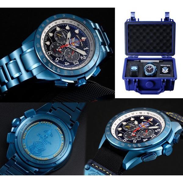 KENTEX ケンテックス 腕時計 航空自衛隊 ブルーインパルスSP BlueImpulse ソーラーメッシュ メンズ S720M-02 送料無料|fnetscom|03
