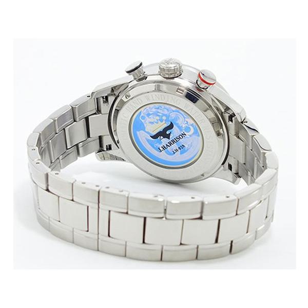 J.HARRISON ジョン・ハリソン 腕時計  3D多機能付 両面スケルトン 自動巻時計 J.H-020BO ブラックオレンジ 橙色 メンズ 送料無料|fnetscom|03