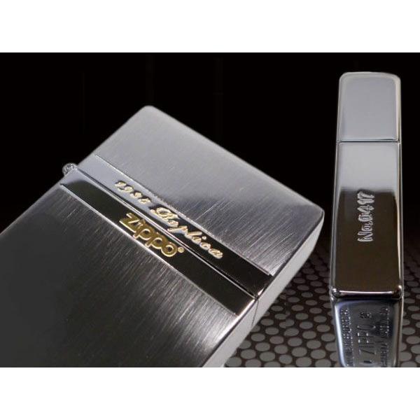 zippo ライター 限定 ジッポー1935 復刻版 レプリカ ミラーライン BNG 両面加工 NEW1935ZIPPO|fnetscom|03