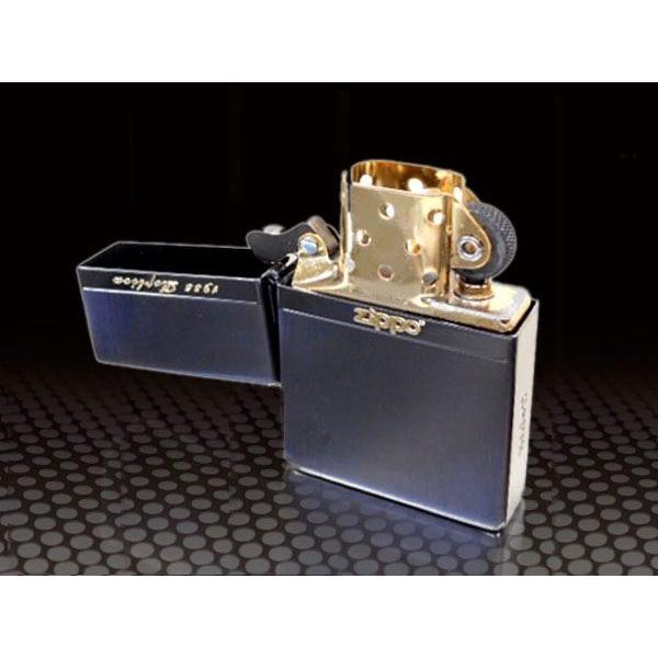 zippo ライター 限定 ジッポー1935 復刻版 レプリカ ミラーライン BNG 両面加工 NEW1935ZIPPO|fnetscom|04