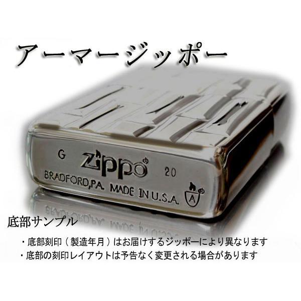 zippo ジッポー ライター アーマー ブラックマットイオンローズA バラ薔薇 赤|fnetscom|06