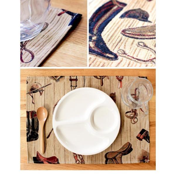 スペインジャガード(HIPICA)ランチョンマット テーブルマット  アウトドア インテリア キッチン スペイン キャンプ おしゃれ かわいい  グッズ|fofoca|03