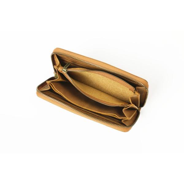 (訳あり品) 長財布 メンズ 本革 総牛革 日本製 魅革(mikawa) 本革財布 イタリア製オイルドヌバックレザー ヴィンテージ ラウンドファスナー長財布 f1002w|foglie|05