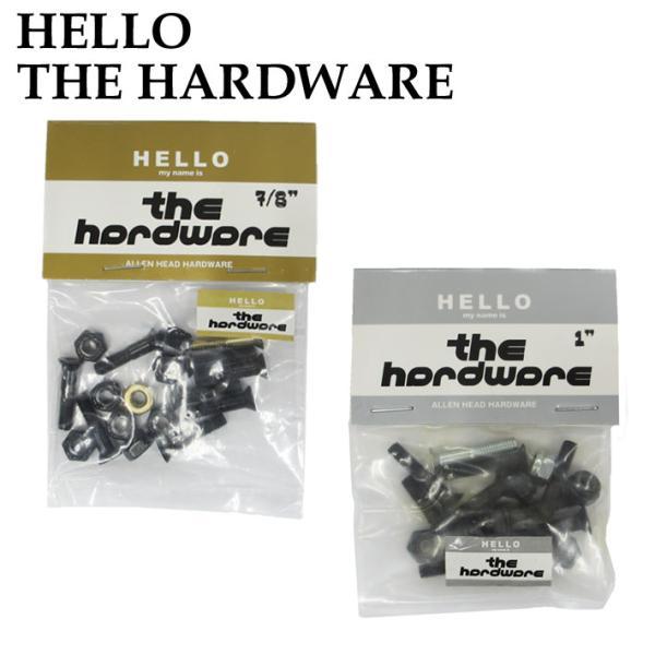 THE HARDWARE HELLOW ビス ナット スケートボード スケボー