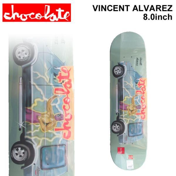 CHOCOLATE スケートボード デッキ チョコレート VANNER SERIES VINCENT ALVAREZ ヴィンセント・アルバレス [CH-32] 8.0inch スケボー パーツ