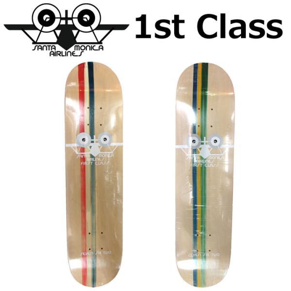 スケボー デッキ  SANTAMONICA AIRLINES サンタモニカエアライン SMA 1st Class [1] [2] モデル クルージング  スケートボード スケートデッキ