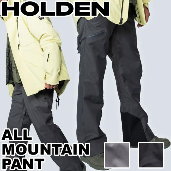 [現品限り特別価格] 20-21 HOLDEN ホールデン スノーウェア M ALL MOUNTAIN PANT パンツ メンズ スノーボード ウエア 2020 2021