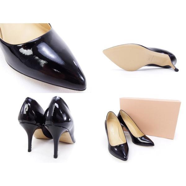 2015秋冬 コルソローマ CORSO ROMA 9 靴 レディース パンプス ブラック (513-1R NERO)|fontana2014|03
