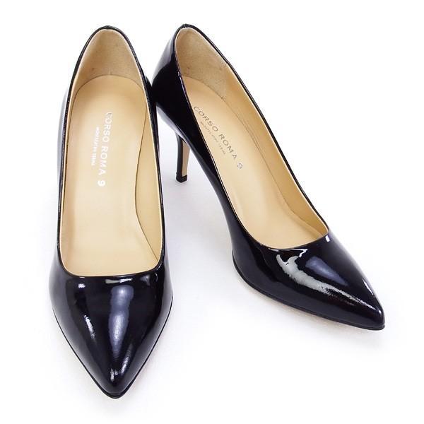 2015秋冬 コルソローマ CORSO ROMA 9 靴 レディース パンプス ブラック (513-1R NERO)|fontana2014|05