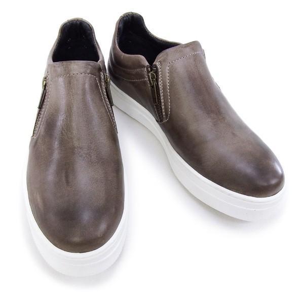デザイン マニファトゥーラ design manifattura 靴 レディース YORK スニーカー スリッポン ブラウン (1030 VITELLO ANTIK TDM MORO)