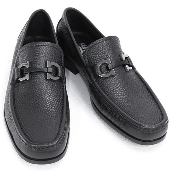 cd805dee91ac サルバトーレ フェラガモ Salvatore Ferragamo 靴 メンズ ガンチーニ ビジネスシューズ ローファー ブラック (GRANDIOSO  0642848 NERO) ...