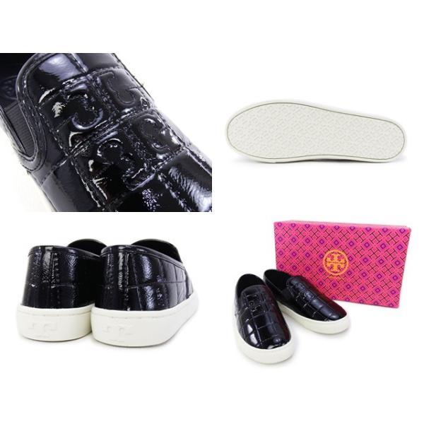 トリーバーチ Tory Burch 靴 Jesse Quilted Logo Sneaker スニーカー スリッポン