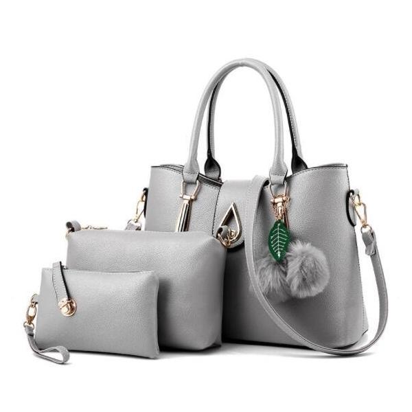 ハンドバッグ レディース 送料無料 3点セット ショルダーバッグ 2wayバッグ 手提げバッグ 大容量 鞄 PU 通勤 プレゼント ギフト 母の日 ママ