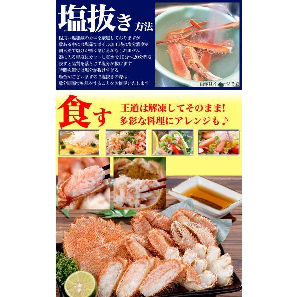 超特大BIG800g2尾 毛ガニ 一級品堅の毛がに けがにカニ味噌 蟹のかにみそ ボイル加熱済み急速冷凍|foodsland|11