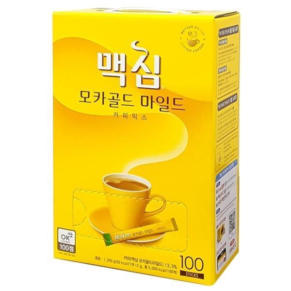 マキシム モカゴールド コーヒーミックス 12g×100包入り コーヒー 飲み物 韓国ドリンク 韓国茶 韓国食品|foodsup