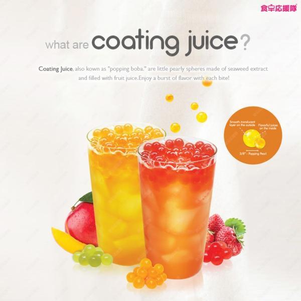 不思議な玉ジュース♪ コーティングジュース 選べる 12個セット coating juice ポッピングボバ Popping BOBA 冷やしてさらに美味しい♪|foodsup|02