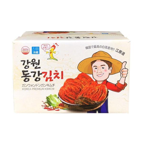 江原道 ドンガンキムチ 10kg(5kg×2袋)業務用 冷蔵便 韓国産キムチ 白菜キムチ ポギキムチ