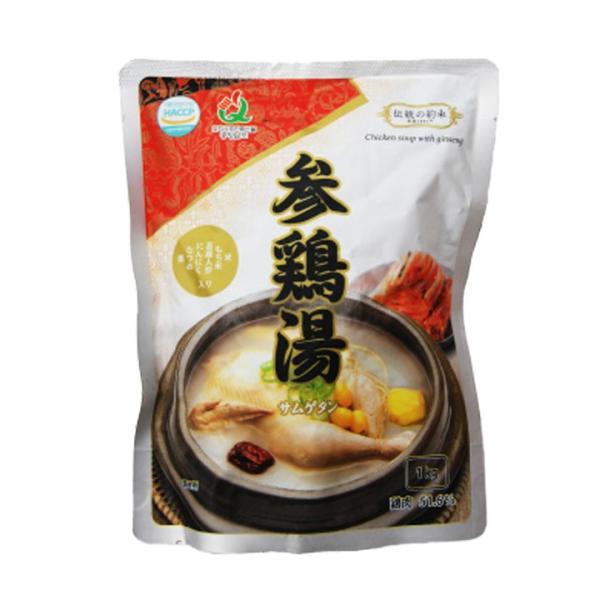 サムゲタン レトルト 1kg×2袋 伝統の約束 参鶏湯 韓国 foodsup 02