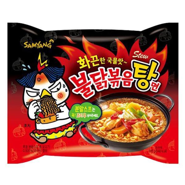 激辛 ブルダックタン麺 ブルダック炒め湯麺 145g×5袋 プルタク|foodsup|02