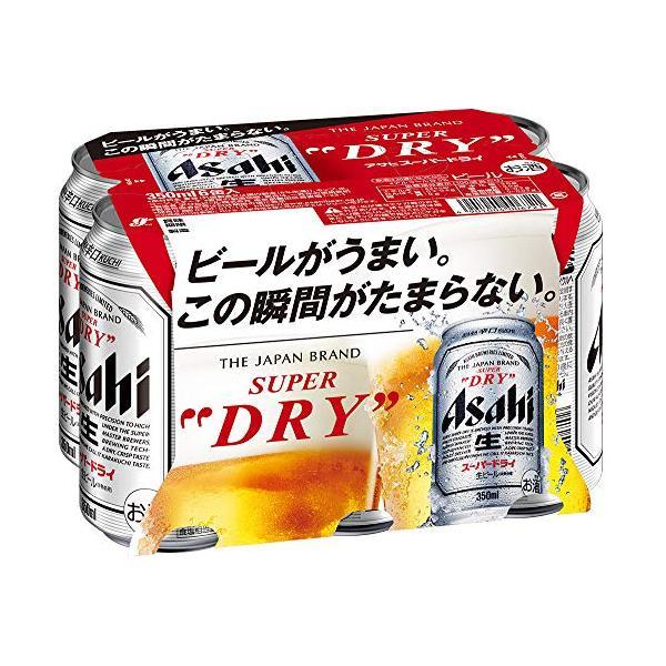 アサヒ スーパードライ 350ml×6缶パック|football-item