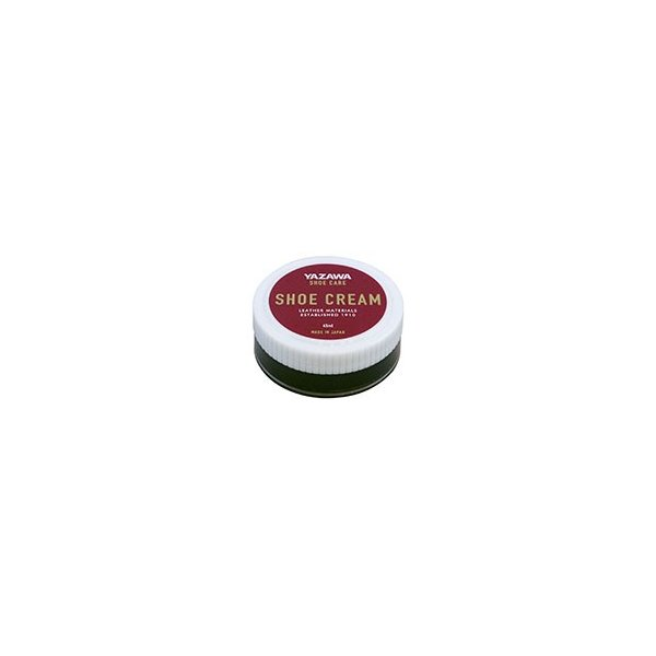 YAZAWA シュークリーム 45ml ブラック ダークブラウン ニュートラル ツヤ・栄養・革用・靴用・シューケア