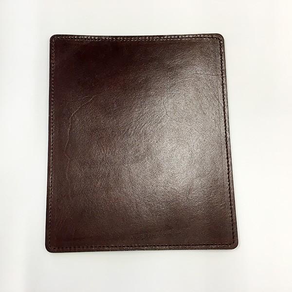 YAZAWA エコレザーマウスパッド 全7色 ブラック ダークブラウン キャメル ブラウン ネイビー レッド グリーン footmate 05