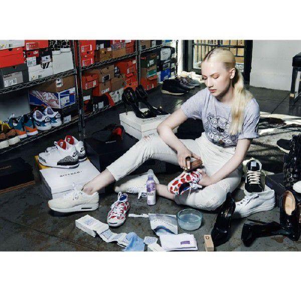 【スゴい】汚れたスニーカーが復活した!【靴の洗い方】(雑誌やハンズでも話題のクリーナー) 【お買い物まとめ】