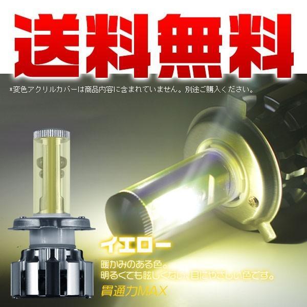 3%クーポン 1灯 バイク専用 送料無料 X-LED CC H4 H7 PH7 PH8 LEDバルブ 二面発光 変色可能 最強の照射距離 多段発光 v force4future 02