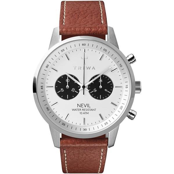 トリワ 腕時計 メンズ レディース ユニセックス ネヴィル クロノグラフ NEST119-TS010212 TRIWA RAVEN NEVIL時計 ウォッチ 並行輸入品|forest-general