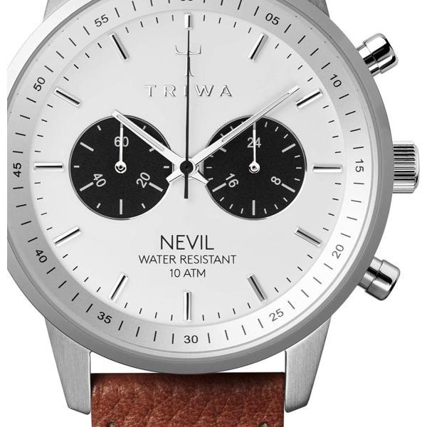 トリワ 腕時計 メンズ レディース ユニセックス ネヴィル クロノグラフ NEST119-TS010212 TRIWA RAVEN NEVIL時計 ウォッチ 並行輸入品|forest-general|02