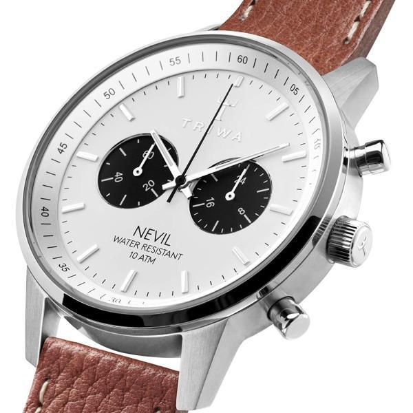 トリワ 腕時計 メンズ レディース ユニセックス ネヴィル クロノグラフ NEST119-TS010212 TRIWA RAVEN NEVIL時計 ウォッチ 並行輸入品|forest-general|03