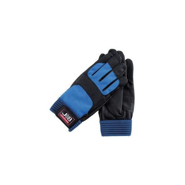 (まとめ)作業用手袋/スパイダー1 〔LLの幅広タイプ×5セット〕 洗える ジョブマスター JWG-150LLW