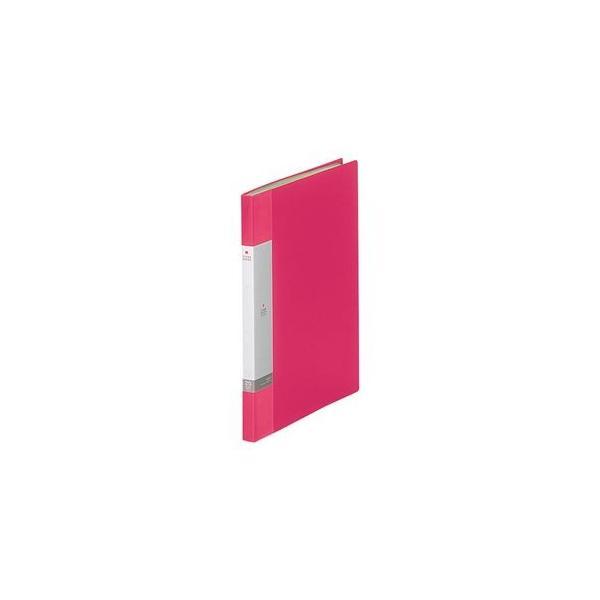 (まとめ) リヒトラブ リクエスト クリヤーブック(クリアブック) A4タテ 20ポケット 背幅16mm 赤 G3201-3 1冊 〔×20セット〕