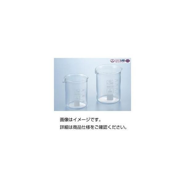 (まとめ)硼珪酸ガラス製ビーカー(ISOLAB)250ml 入数:10個〔×3セット〕